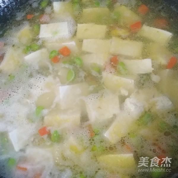虾仁豆腐汤怎么吃