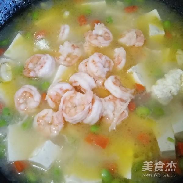 虾仁豆腐汤怎么炒