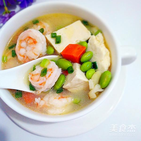 虾仁豆腐汤怎么炖