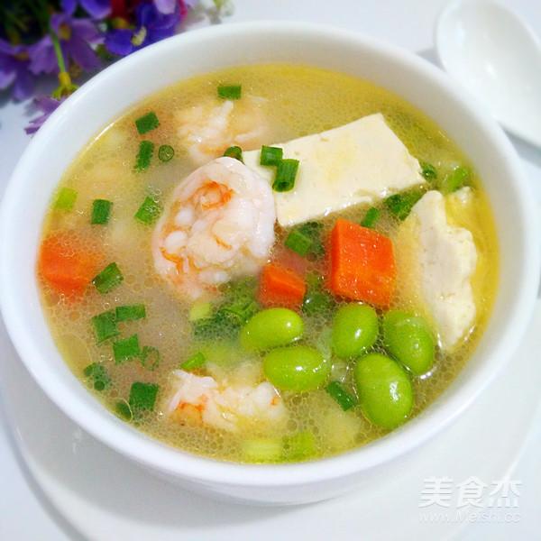虾仁豆腐汤怎么煸
