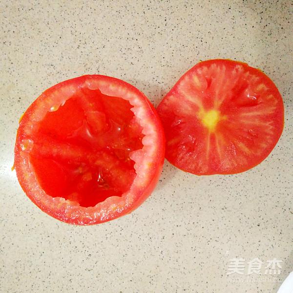 西红柿米饭盅的做法图解
