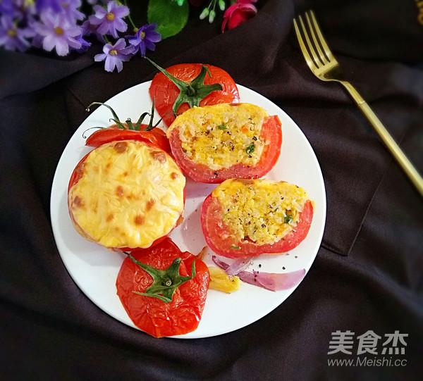 西红柿米饭盅怎么炖