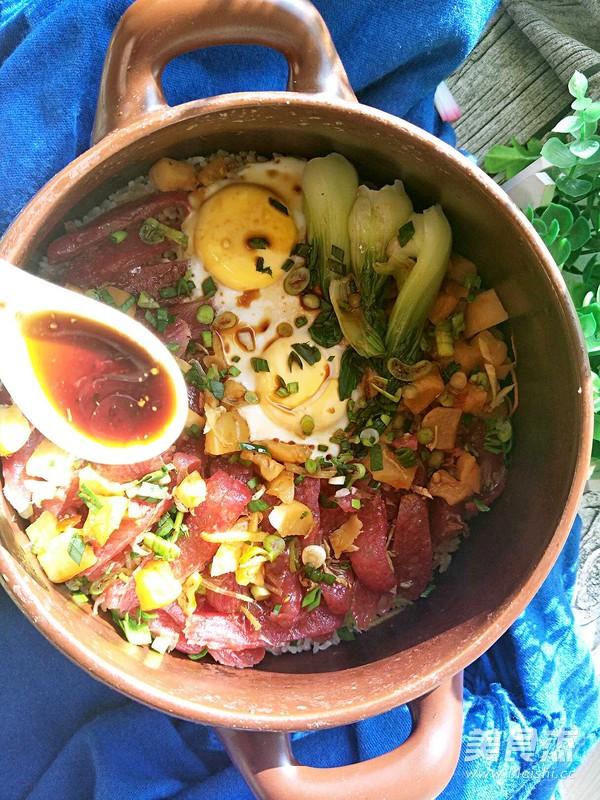 砂锅腊肠焗饭怎样煮