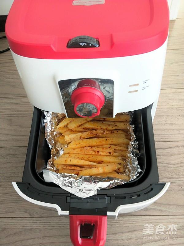 法式黑胡椒土豆条怎么煮