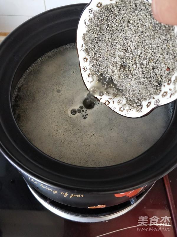 草果双米粥的简单做法