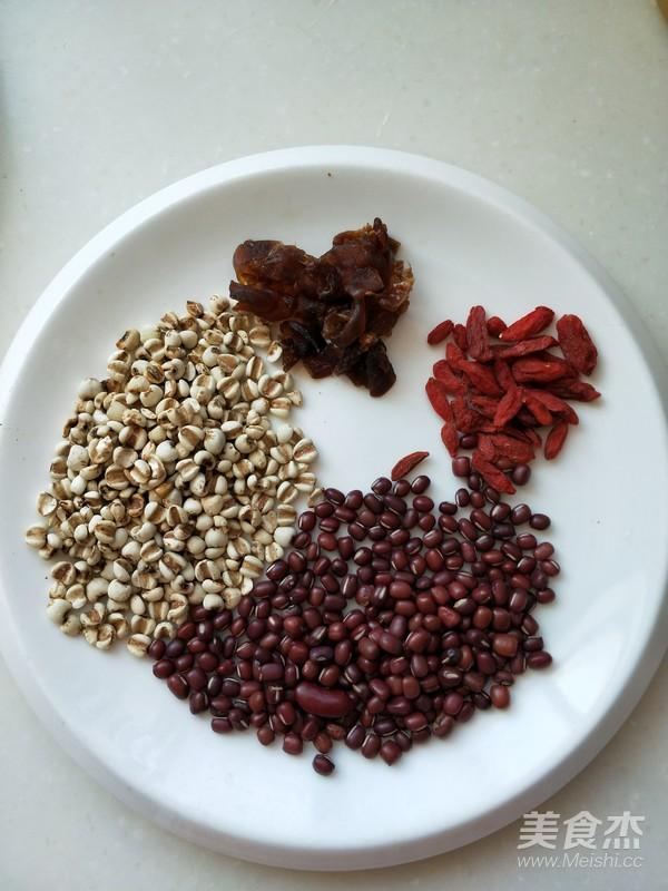 红豆薏米粥的做法图解