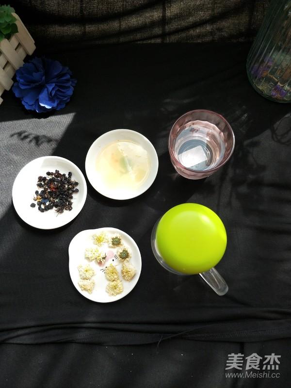 赏心悦目一杯----黑枸杞菊花茶的做法图解