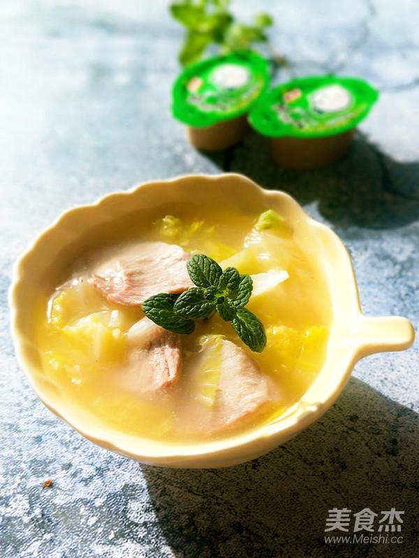 白菜肉片浓汤的做法大全