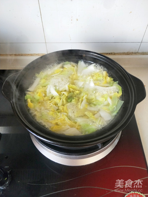 白菜肉片浓汤怎么炒