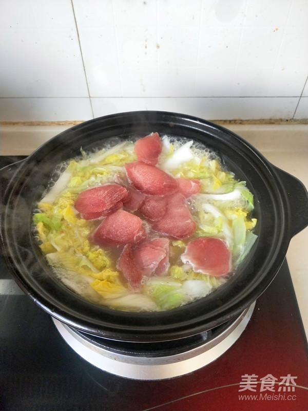 白菜肉片浓汤怎么煮