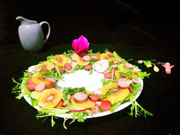 花环沙拉的做法大全