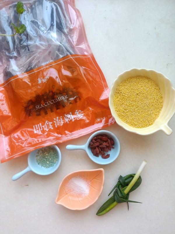 小米炖海参的家常做法