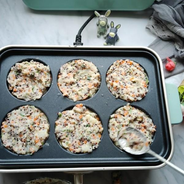 三色藜麦土豆饼怎么煮