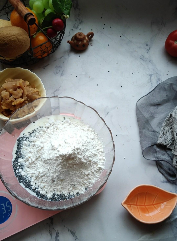 莲蓉麻薯包怎么做