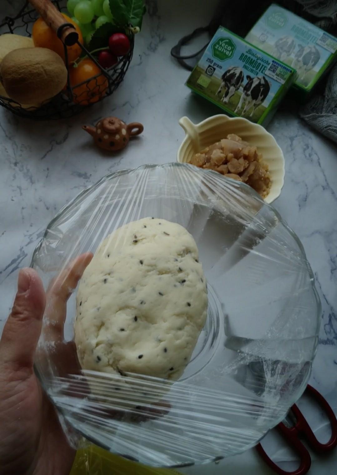 莲蓉麻薯包怎么煮