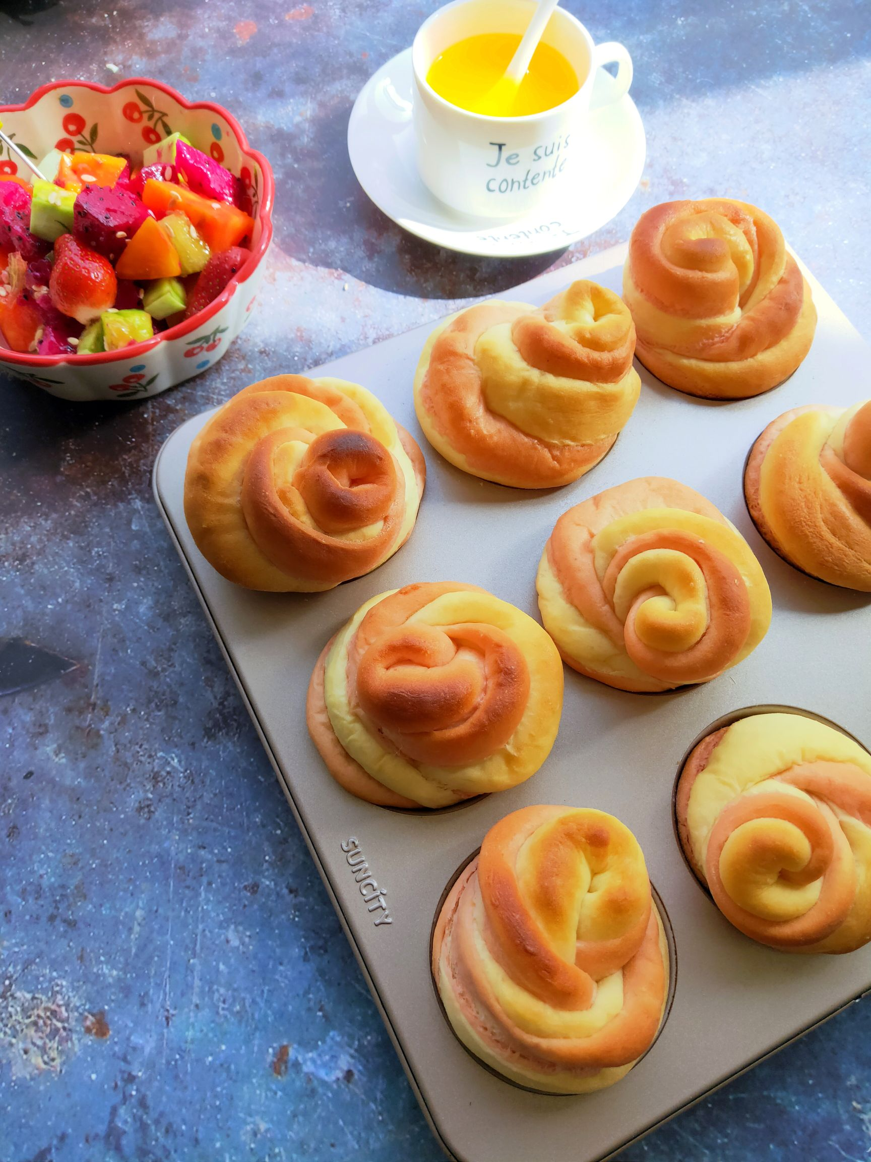 玫瑰花面包怎样煮