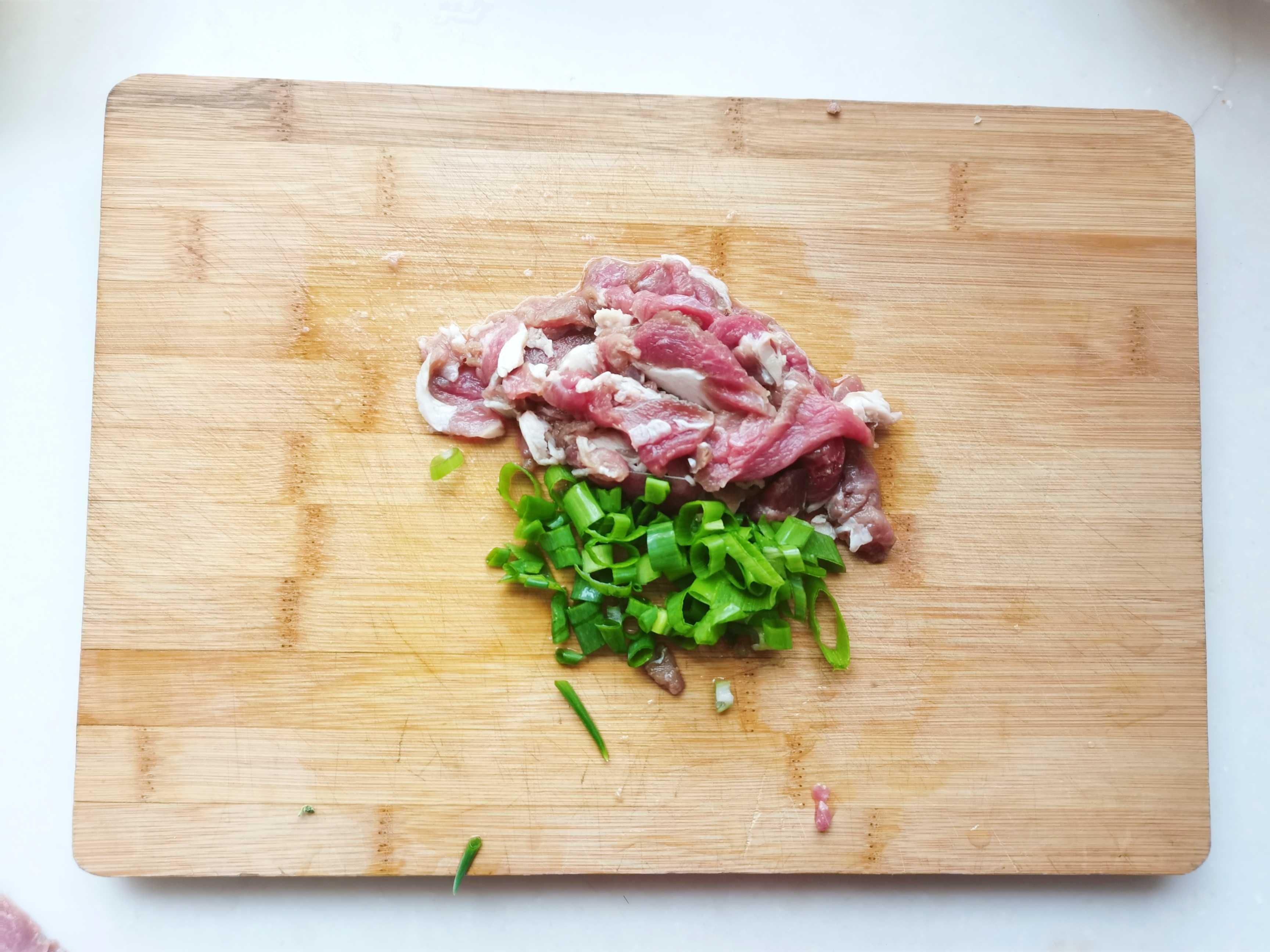 西芹青椒羊肉的步骤