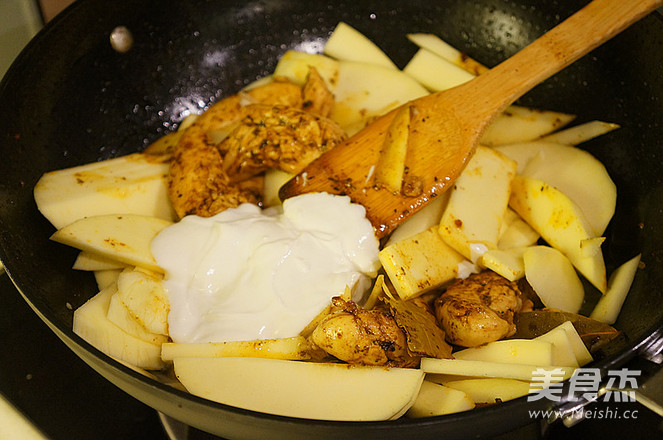 南印度风味咖喱鸡的制作大全