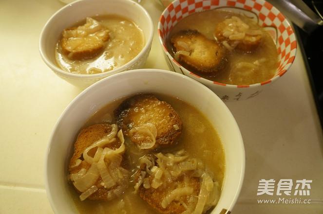 洋葱汤怎样做