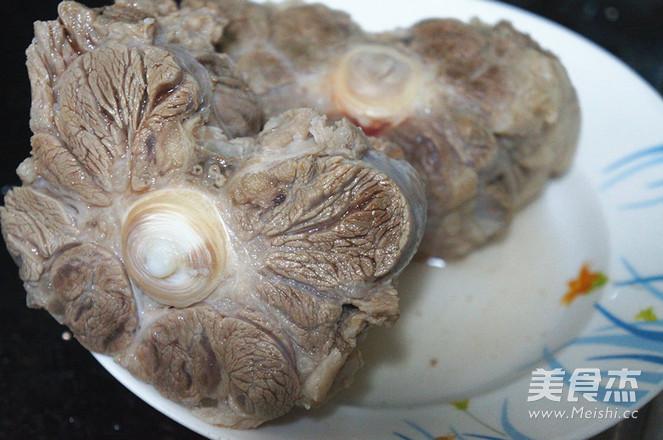 韩式牛尾汤的做法图解