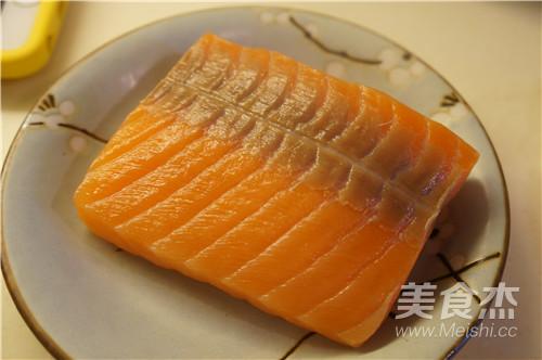 味噌腌三文鱼的简单做法