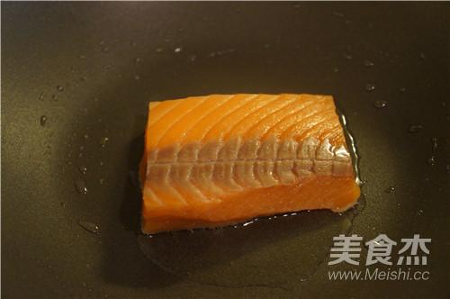 三文鱼茶泡饭的简单做法