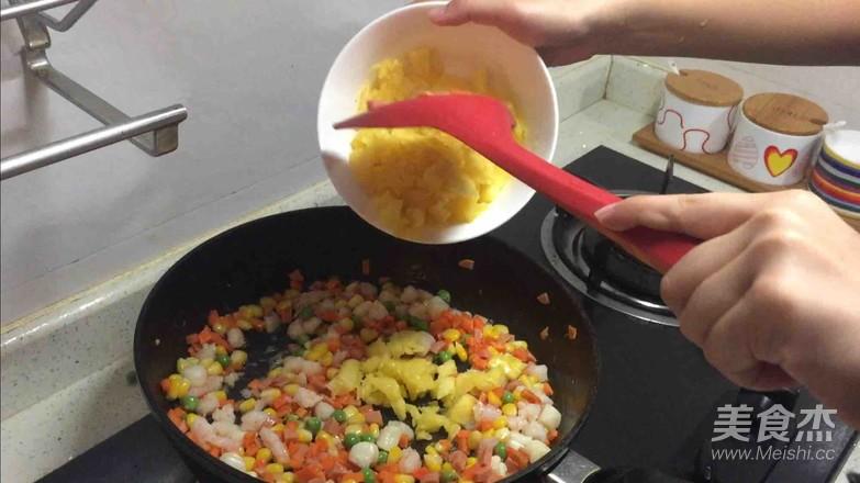 菠萝海鲜焗饭怎么炒