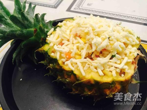 菠萝海鲜焗饭怎么炖