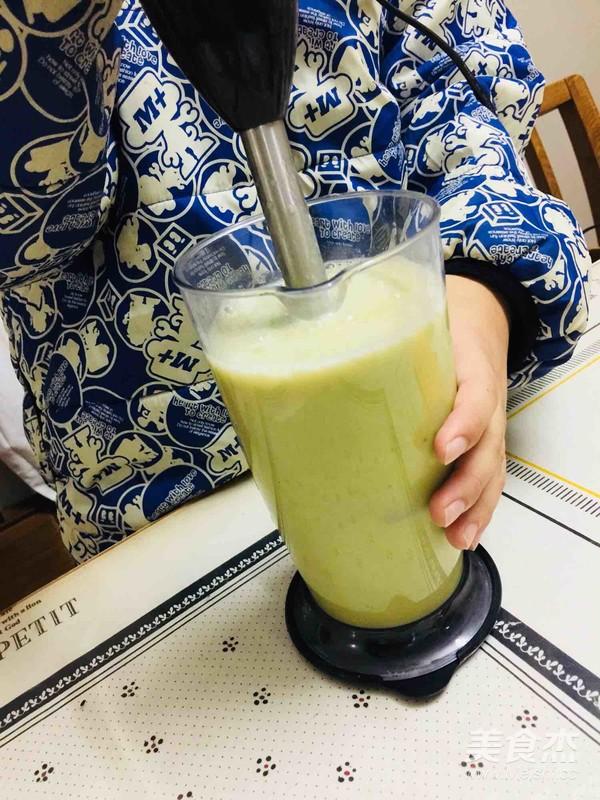 牛油果香蕉奶昔的简单做法