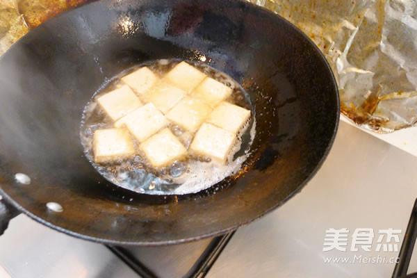 老干妈煎豆腐的做法图解