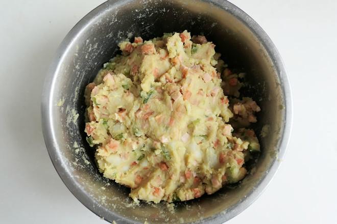 仿真土豆咖喱面包怎样炒