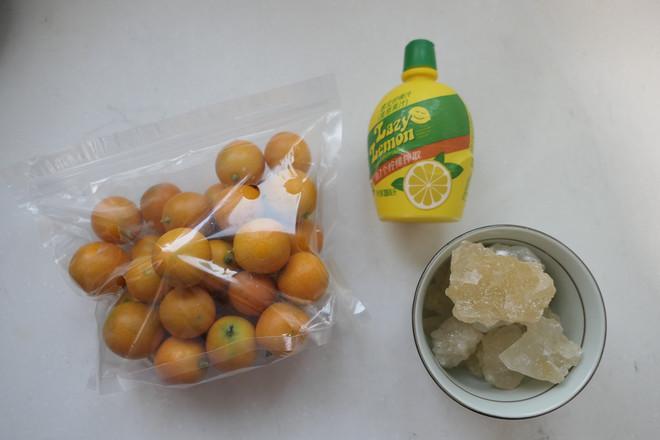 冰糖蜜金桔的做法大全