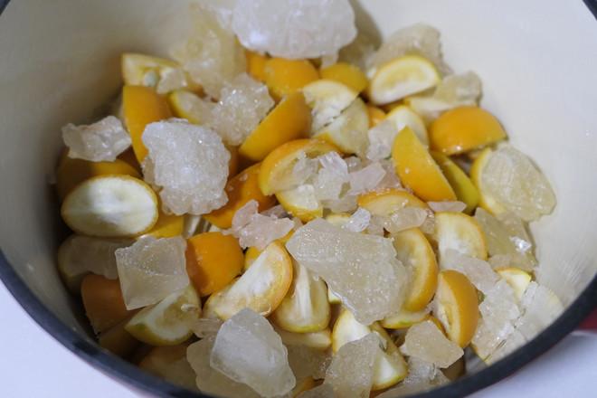 冰糖蜜金桔怎么做
