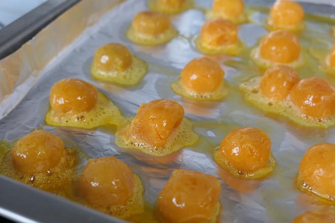 肉松蛋黄酥的家常做法