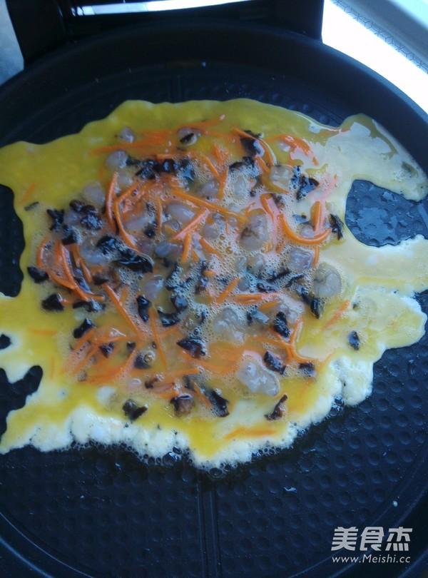 鲜虾鸡蛋卷怎么做