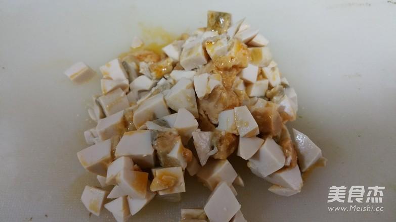 梅菜咸蛋蒸肉饼的做法图解