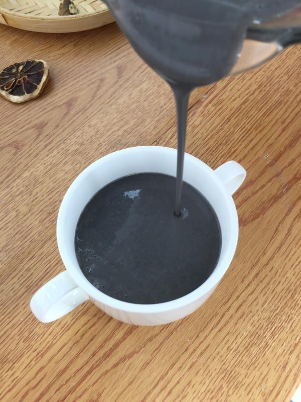 黑芝麻燕麦米糊的简单做法