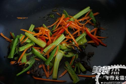 蔬菜炒饼怎么煮