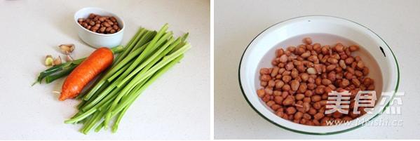 炝拌芹菜花生米的做法大全