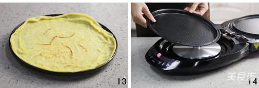 鸡蛋软饼怎么炒