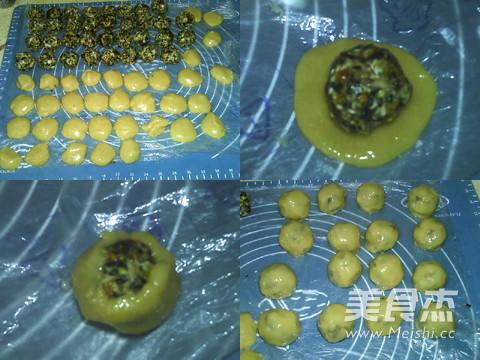冬蓉五仁月饼的家常做法