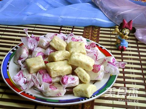 台湾经典手工牛轧糖成品图