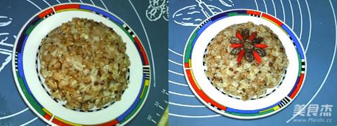 综合麦片饭的步骤