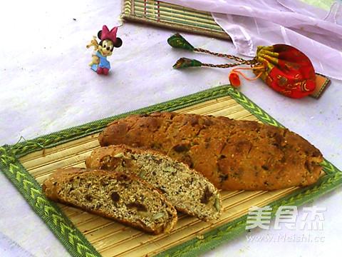 综合果仁面包成品图