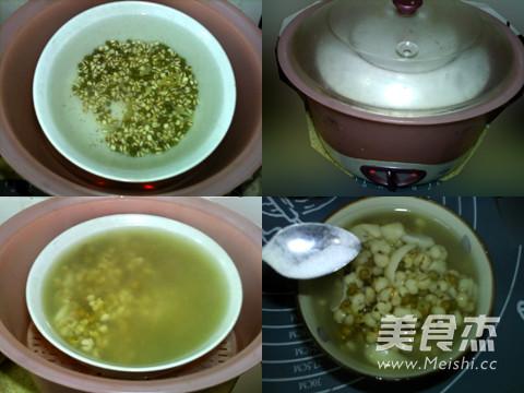 薏米绿豆百合粥的家常做法