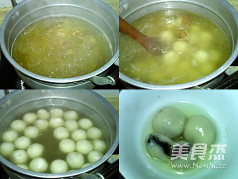 陈皮茯苓芝麻汤圆的简单做法