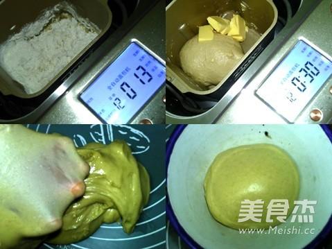 桂皮面包卷的做法图解