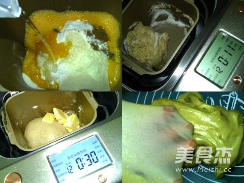 桂皮葡萄干面包卷的做法图解