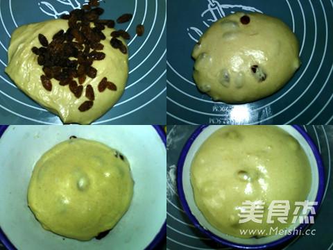 桂皮葡萄干面包卷的家常做法