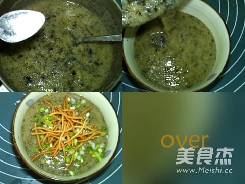 紫菜虾皮玉米粥的简单做法